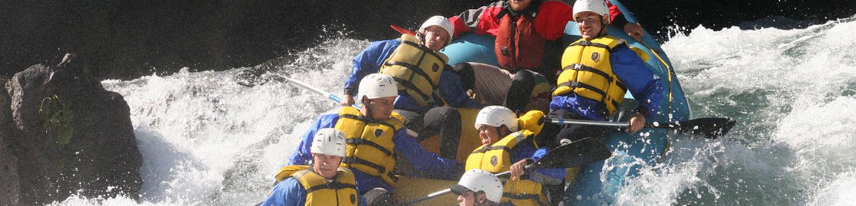 River Rafting in Kashmir Valleys