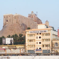 Rock Fort Temple in Tiruchirappalli