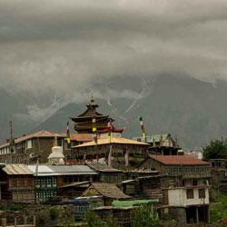 Roghi Village in Kalpa