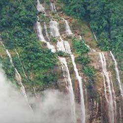Rongbang Dar Waterfall in Tura