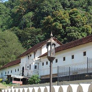 Royal Palace of Kandy in Kandy