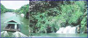 Sai Yok Waterfall in Kanchanaburi