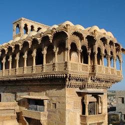 Salim Singh Ki Haveli in Jaisalmer