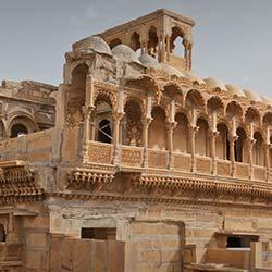 Salim Singh's Haveli in Jaisalmer
