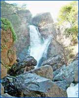 Salmon Creek Falls (Monterey) in California