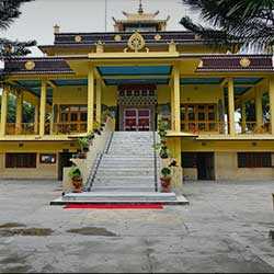 Salugara Monastery in Siliguri