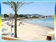 San Antonio Bay Beach in Ibiza