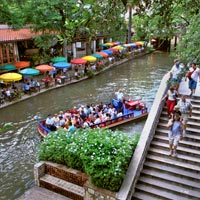 San Antonio River Walk in Texas