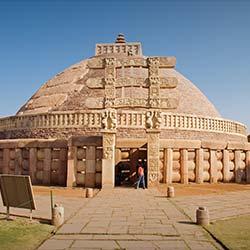 Sanchi Stupas in Sanchi