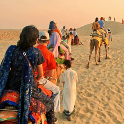 Sand Dunes Safari in Bikaner