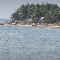 Sangumal Beach in Rameswaram