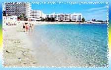 Santa Eulalia Beach in Ibiza