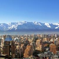 Paragliding in Santiago De Chile in Santiago