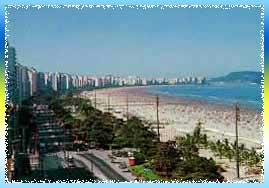 Santos Beach Gardens in Sao Paulo