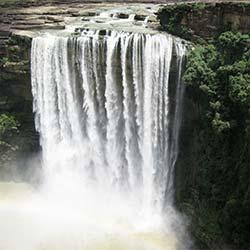 Satdhara Falls in Dalhousie