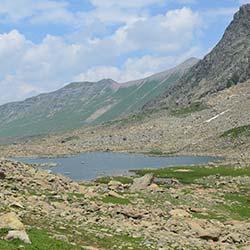Satsar Lake in Sonamarg