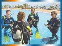 Scuba Diving in Dahab in Sinai Peninsula