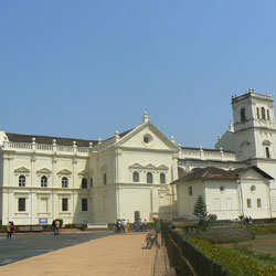 Se Cathedral in Goa City