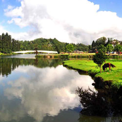 Senchal Lake in Darjeeling