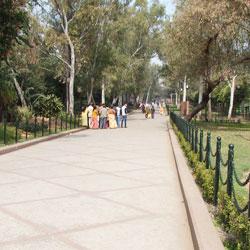Shah Jahan Park in Agra