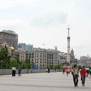 Shanghai Bund in Shanghai