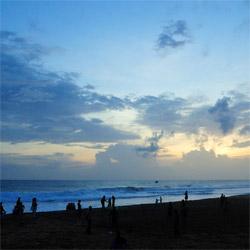 Shanghumugham Beach in Trivandrum