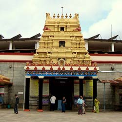 Sharadamba Temple in Chikmagalur