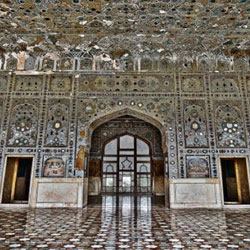 Sheesh Mahal in Agra
