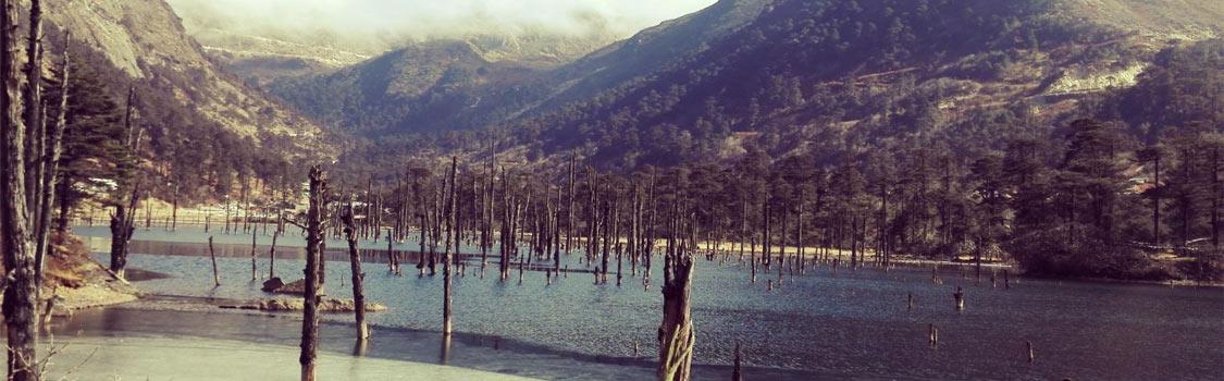Shonga-tser Lake