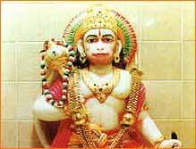Shri Hanuman Thakur Temple in Imphal