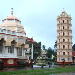 Shri Mangueshi Temple in Goa City