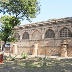Sidi Saiyad Mosque in Ahmedabad