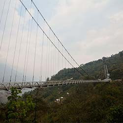 Singshore Bridge in Pelling