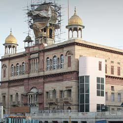 Sis Ganj Gurdwara in New Delhi