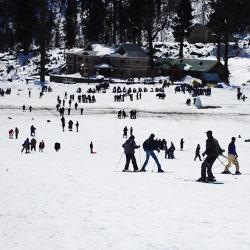 Heli Skiing Manali in Manali
