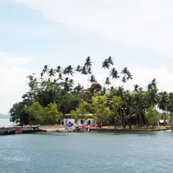 Snake Island in Port Blair