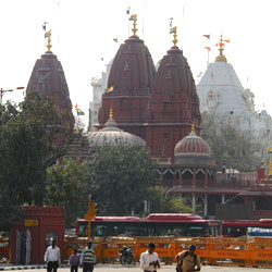 Sri Digambar Jain Lal Mandir in New Delhi