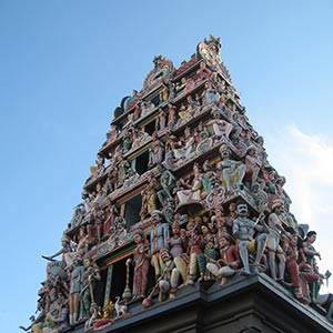 Sri Mariamman Temple in Chinatown