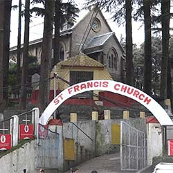 St. Francis Church in Dalhousie
