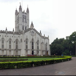 St. Pauls Cathedral in Kolkata