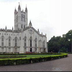St. Pauls Cathedral in Kolkata