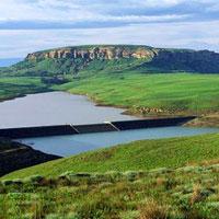 Sterkfontein Dam Reserve in Free State