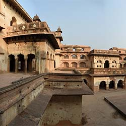Sunder Mahal in Orchha