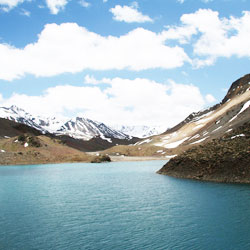 Suraj Tal Lake in Lahaul & Spiti