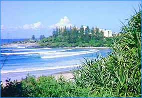 Surfers Paradise in Queensland