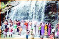 Suruli Falls in Madurai