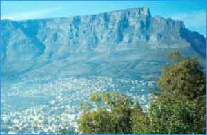 Table Mountain in Western Cape
