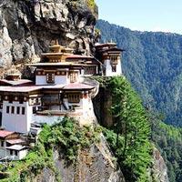 Taktsang Monastery (Tiger's Nest) in Paro