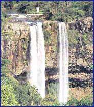Tamarind Falls in Tamarin