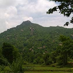 Tapovan Caves and Hills in Deoghar